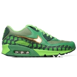 Happy St. Patrick's Day! For anyone not sure what bit of green to wear, here's Nike's limited edition Air Max 90