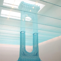 'reflection' (installation at maison hermes in tokyo) by do ho suh, 2004
