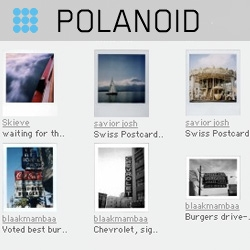 Polanoid ~ awesome site dedicated to collecting and sorting the worlds polaroids.