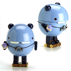 Noferin's Pandacake ~ cutely amusing with camera and roller skates ~ check it out in the shop section of this flashy site