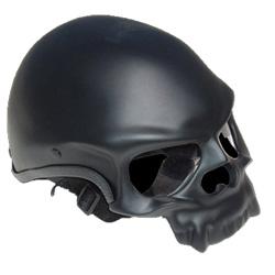 Wow. Santiago Chopper Skull Helmet.