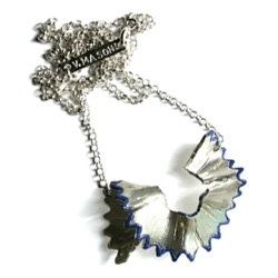 NotCouture #1381, Cucumber posted this great silver color pencil shaving necklace by Victoria Mason