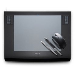 Although i do desperately need the baby cintiq ~ the special edition wacom intuos in black and gun metal gray is seriously sexy