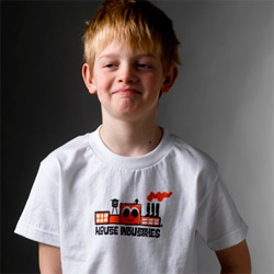 House Industries has some adorable new logo kids tees!