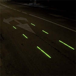 A long time ago in a Galaxy Far, Far Away... Street wars, new Urban intervention by SpY... [Editor's Note: Those are glow sticks! Great gallery of projects]