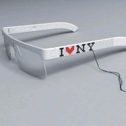 Customize your glasses by stitching it. Seungyoub Oh's Stitch design won the 2006 Opus Design Award.