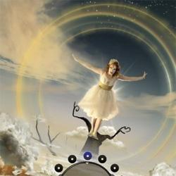 The rather bizarre Movi.Kanti.Revo, a sensory Chrome Experiment uniquely crafted by Cirque du Soleil.