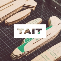 Wooden Turbo Flyers from Tait Design.