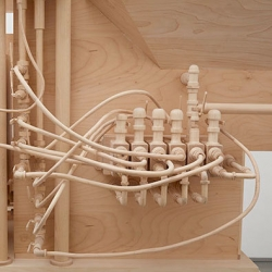 It's Nice That meets Roxy Paine, who carves incredibly complex everyday objects from wood.
