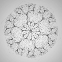 Beautiful and mesmerizing subdivision organisms and mutation topologies by Raven Kwok.