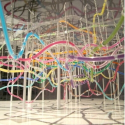 A 3D Model of Tokyo's Underground Metro System by Tokyo University graduate student Takatsugu Kuriyama.