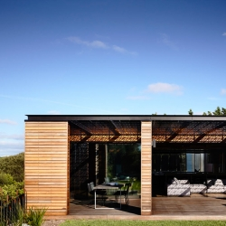 The Blairgowrie House on Port Phillip Bay by Wolveridge Architects.