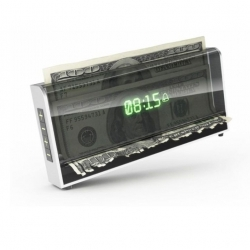 The meanest alarm clock ever shreds your money while it waits for you to get out of bed.