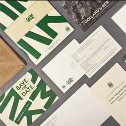Amore created this gorgeous identity for the Swedish American Chamber of Commerce From Farm to Fork summit.