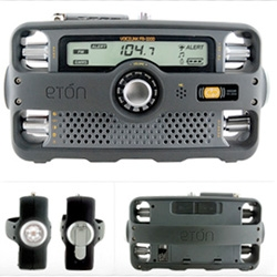 Third in the Ultimate Accessories Post series ~ Eton FR 1000 ~ a full unboxing of this Self-Powered Hand-Crank AM/FM/NOAA Weather/2-Way GMRS Radio with Flashlight, Siren and Cell Phone Charger!