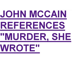 The counterpart of Barack Obama Is Your New Bicycle.  Meet John McCain Is Your Jalopy.