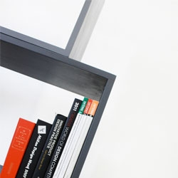 The interesting Lean bookshelf from Monocomplex design.