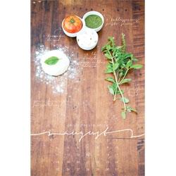 Beautiful recipe wall calendars featuring seasonal recipes from Liz Carver Design.