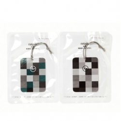 Fragment Design's new luggage tag scents in collaboration with retaW.