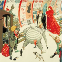Ahead of the London Transport Museum's Poster Art 150 exhibition, they have released this 1920 poster for an International Advertising Exhibition featuring advertising characters. How many can you name?