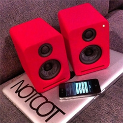 Nocs NS2 Air Monitors ~ stunning sound and design ~ with built in AirPlay and coated in a soft touch rubber coating, these speakers are hard to resist. See the full unboxing and details!