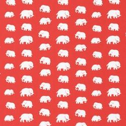 Adorable Estrid Ericson Elephant Wallpaper from svenskt tenn stockholm