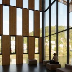 Besançon Art Centre and Cité de la Musique by Kengo Kuma and Associates.