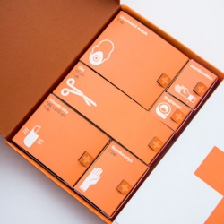 Kevin Harald Campean's conceptual first aid kit packaging.