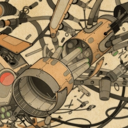 Mechanical illustrations from Jason Gamber.