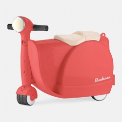 The Skootcase, part suitcase that kids can ride and steer.