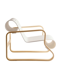 A closer look at Artek's Armchair 41 Paimio by Alvar Aalto designed in 1932.