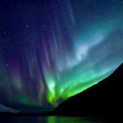 Norwegian animator and sound artist Per Byhring explains how particles originating from deep inside the core of the sun creates northern lights or aurora borealis.