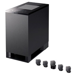 Could these Sony HT-IS100 Bravia Theatre Micro speakers be much smaller???