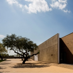 The Ecork hotel, José Carlos Cruz's cork-clad hotel in Portugal Alentejo region, just outside Evora.