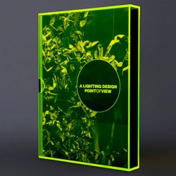 Beautiful prospectus book design for Point of View by Liquorice.