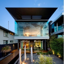 Finnis Architects's Esplanade House in Brighton, Melbourne.
