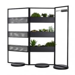 AREA, pretty modular storage designs from Anya Sebton for Lammhults.