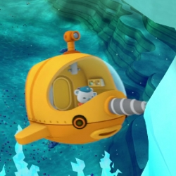Octonauts, a cute BBC children's series based on the books by Vicki Wong and Michael C. Murphy. The series follows the underwater adventurers as they explore the sea, including fighting off Antarctic brinicles.
