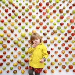 The Real Apple Store opens in London's Borough Market in celebration of Apple Day.