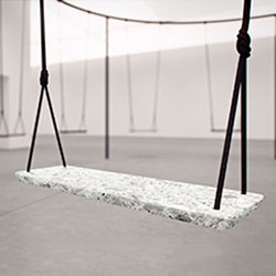 Swings, an installation by Philippe Malouin for Caesarstone at IDS Toronto.