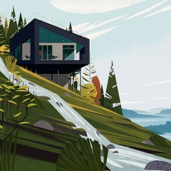 Cabins, a  new title from Taschen by Philip Jodidio.
