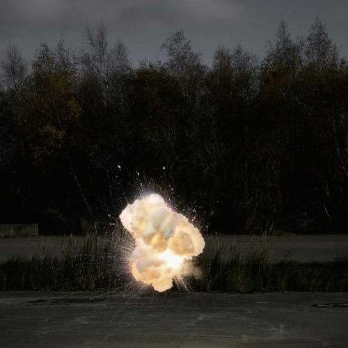 Ken Hermann captures fantastic midair explosions in his series Explosions 2.0.