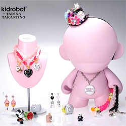 Kid Robot Jewelry line ~ a result of collaboration with Tarina Tarantino... whatever will be next ~