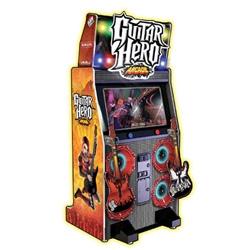 Coin-op Guitar Hero Video Arcade Guitar Machine!
