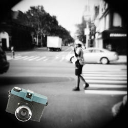 The Diana was a cheap 1960s plastic camera known for (unintentionally) shooting soft, dreamlike pix. Now Lomo has started to make these cameras again, so we can all make some art.