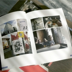 Designer/entrepreneur John Poisson's latest experiment in photo sharing is a self-published 124-page magazine he created for friends and family while on sabbatical in Europe.