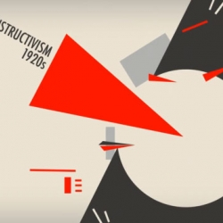 History of Graphic Design Avant Garde is a 30-second animated film short by Minji Aye Hong that visually describes the beginning of Avant-garde modernism.