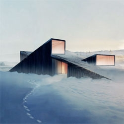 Ski down the roof with Norwegian architects Fantastic Norway's Mountain Hill Cabin.