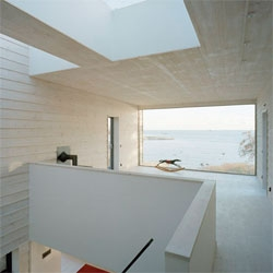 The beautifully minimalistic Villa Plus by Waldemarson Berglund.