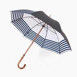 The stylish new L.U.G.B Naval umbrella with prints inspired by the British Navy.